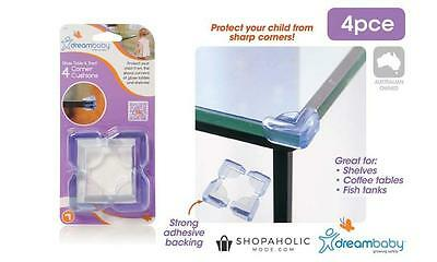 2 x Dreambaby Glass Table & Corner Cushions 4 Pack – (8 pieces) F134