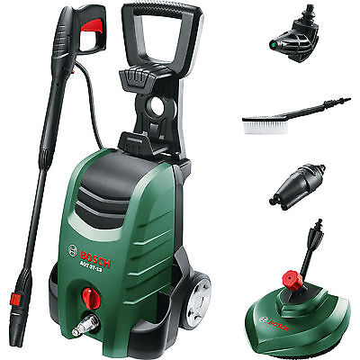 Bosch AQT 37-13 PLUS Electric Pressure Washer with Patio Cleaner 130 Bar