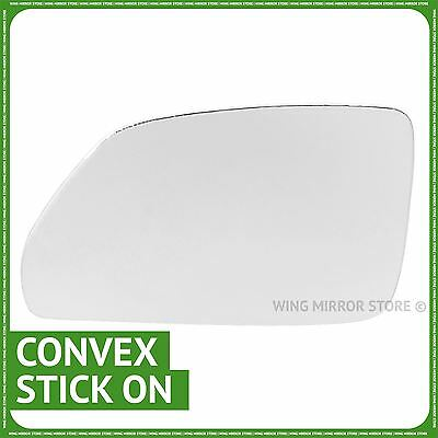 Left hand passenger side for VW Polo 2005-2008 wing mirror glass