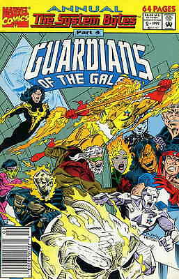 GUARDIANS OF THE GALAXY ANNUAL #2 Jim VALENTINO Nice! NM New (1992) Marvel