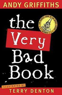The Very Bad Book by Andy Griffiths Paperback Book Free Shipping!