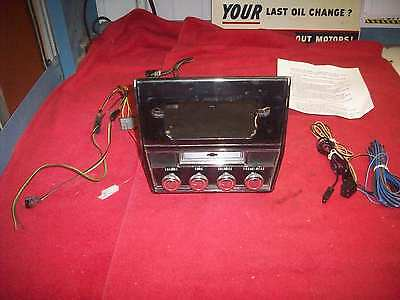 1968 Chevy Caprice Impala Super Sport Delco Radio Stereo 8 Track Player Serviced