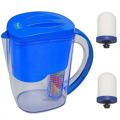 Propur Infused Water Filter Pitcher With (2) Proone M G2.0 Filters + Gift *