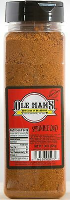 Ole Man's Spice Rub & Seasoning - Original 1.38lb, Buy 1 Get 1  Free!