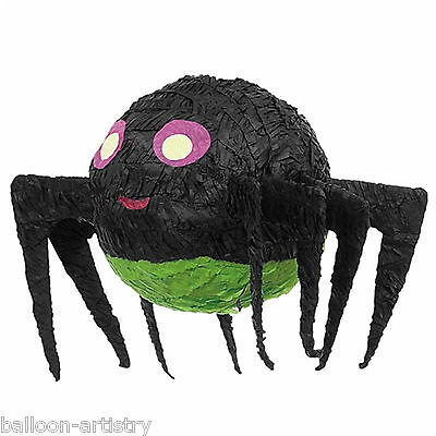 Haunted Halloween Black SPIDER Cute BASH Pinata Party Game Decoration