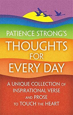Patience Strong's Thoughts for Every Day by Strong, Patience Book The Cheap Fast