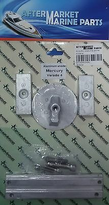 Mercury Verado anode kit aluminium for 4cylinders engines