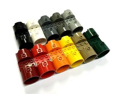 Select Colour LEGO 30360 3X6X2 2//3 Cylinder FREE P/&P!