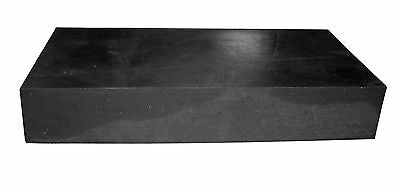 Heavy Duty Solid Rubber Sheet, Bumpers , Spacers - 240Mm X 120Mm X 40Mm Thick