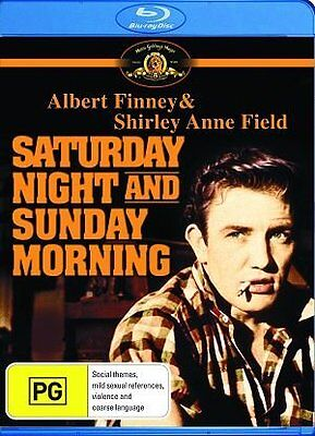 D20 BRAND NEW SEALED Saturday Night And Sunday Morning (Blu-ray, 2010) AUS Stock