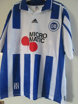 Odense OB 1998-2000 Home Football Shirt Size XL /39257