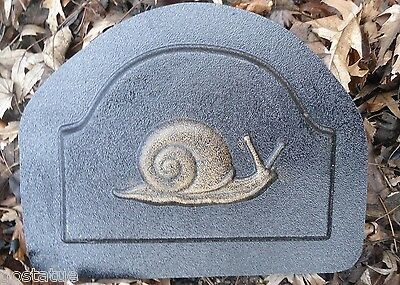 "Snail plaque mold abs plastic mould 12/"" x 1//2 /"" thick"