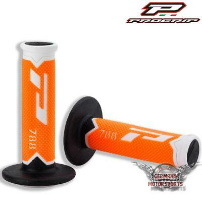 Progrip 788 Lenker Griffe Griffgummi Mx Motocross Enduro Offroad Ktm Orange 22Mm