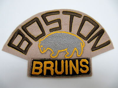 Boston Bruins Vintage Style Embroidered Jersey Crest