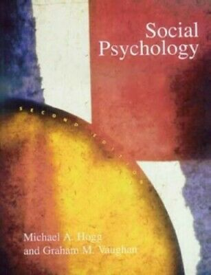 Social Psychology by Hogg & Vaughan Paperback Book The Cheap Fast Free Post
