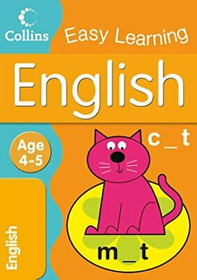 English: Age 4-5 (Collins Easy Learning Age... by Collins Easy Learnin Paperback