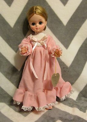 "Vintage 1966 Effanbee Doll 14"" BLONDE Satin Smooth Skin"