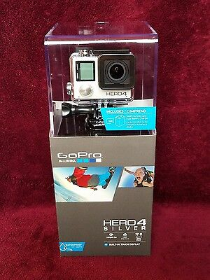 GoPro HERO4 Silver Camcorder DUAL Battery Charger 16GB card + FREE PRIORITY MAIL