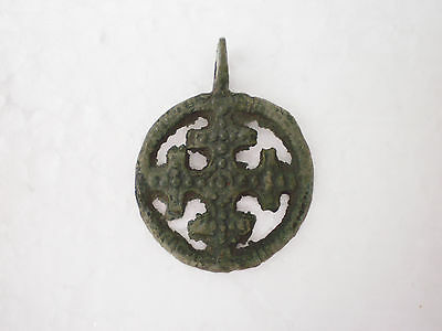 ANCIENT RARE 100% Authentic Viking Cross PENDANT Viking Kievan Rus 9 -11 AD #