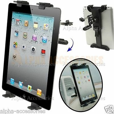 Car Vent Dash Holder Mount Stand Cradle for iPad 1 2 3 4 Mini & Android Tablet's
