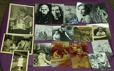 Vintage photos lot of 17