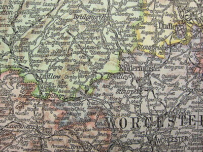 1919 Large Map ~ England & Wales South ~ Devon Cornwall London Inset Channel