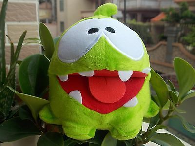 """New Cut The Rope Om Nom Box Plush Toy Open Mouth 5"""""""