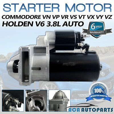 Starter Motor For Holden Commodore 3.8L V6 Vs Vt Vu Vx Vy Vg Vn Vp Vr Wh Wk Vq