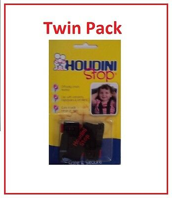 2x New Houdini Stop Car Seat Safety Harness Chest Strap
