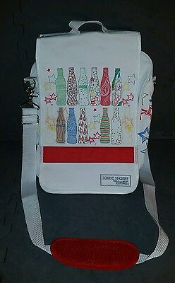 Zakee Shariff Coca Cola bottle Coke messenger bag with shoulder strap