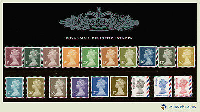 2005 World Europe 1st 2nd 1p-£1 Definitive Stamp Presentation Pack PPD96 (no.71)