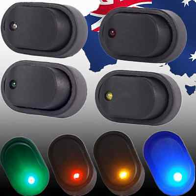 12V 30A LED OFF/ON Boat Rocker Toggle Switch 3Pin Car Switches Oval VLEDS 86