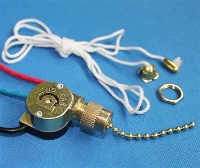 Zing Ear ZE-109M Pull Chain Switch Brass Replacement