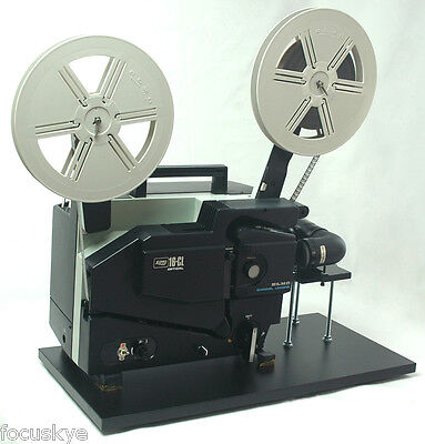 ELMO 16mm Optical Projector Video Transfer  Built-In Sony 4K Ultra HD Camera