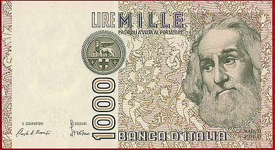 1982 ITALY 1000 Lire Note 109a UNC