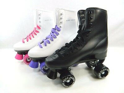 Brand New Roller Skate All Sizes Black White Purple Pink Free Shipping in U.S.