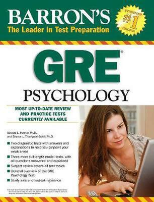 Barron's GRE Psychology, 7th Edition by Edward Palmer (English) Paperback Book F
