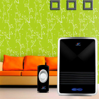 New 25 Tune Melody 1 Chime Melody Remote Control & Wireless LED Digital Doorbell
