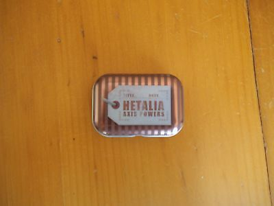 NEW RARE Hetalia Axis Powers Metal Pill Case and Russia coin charm FREE SHIPPING