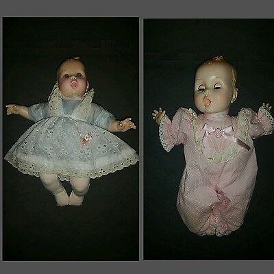 Two Gerber baby dolls 1989