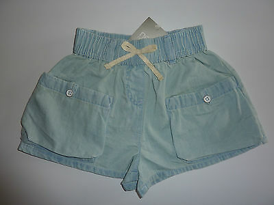 NEXT Gorgeous Little Light Denim Shorts NWT