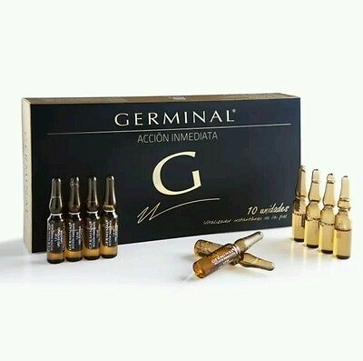 GERMINAL ACCION INMEDIATA 10 AMPOLLAS x1.5ml