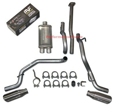 05-12 Toyota Tacoma Catback Dual Exhaust Side Exit Flowmaster Super 44