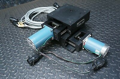 """Design Components DC-33 6"""" XY Stage 3"""" Travel  Slo-Syn Stepper Motors DCI Linear"""