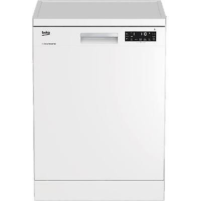 Beko EcoSmart DFN28320W Freestanding  A++ Rated 13 Place Dishwasher in White