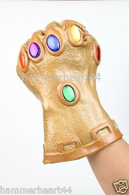 INFINITY GAUNTLET GLOVE Thanos Nebula avengers wearable movable fingers