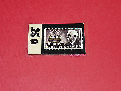 Timbres N°25 A & B Panini Olympia 1896-1972 Jeux Olympiques Olympic Games