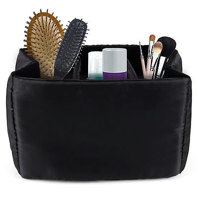 Make-Up / Toiletery / Cosmetic Case Bag Organiser w/ Multiple Compartments
