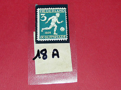 Timbres N°18 A & B Panini Olympia 1896-1972 Jeux Olympiques Olympic Games