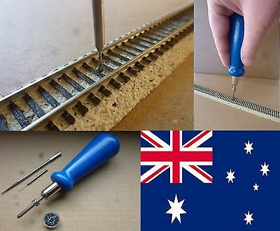 NAILBOY + 500 NAILS for MTL Micro-Trains, SCALE Z - POSTAGE-FREE (AUS)